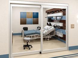 Manual Sliding ICU Door