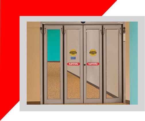 automatic folding door for commercial use